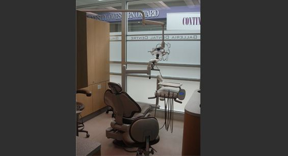 dental office - chair - dentist London, ON